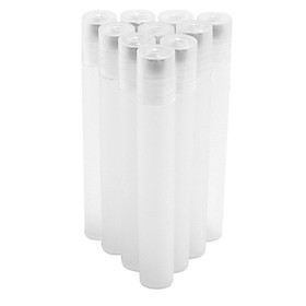 10 Chiếc 10 Ml Nhựa Lăn Chai Với Loại Trơn Bóng Cho Tinh Dầu Nước Hoa Mắt loại Kem