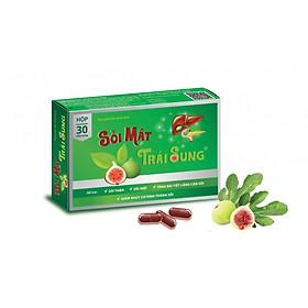 Sỏi mật trái sung - Hỗ trợ điều trị sỏi mật, sỏi thận, bùn mật
