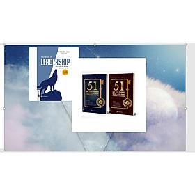Bộ sách để trở thành nhà lãnh đạo 3 cuốn : 51 chìa khóa vàng để trở thành nhà lãnh đạo truyền cảm hứng+ 51 chìa khóa vàng Để ai cũmg muốn làm việc cùng+Dẫn dắt bản thân, đội nhóm và tổ chức vươn xa - The book of leadership