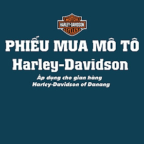 Phiếu mua xe Mô Tô Harley-Davidson of Danang