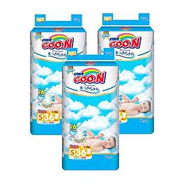 Tã dán Goo.n Premium S36 (4-8kg) - Combo 3 bịch