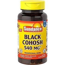 Sundance Black Cohosh 540 mg, 100 Count