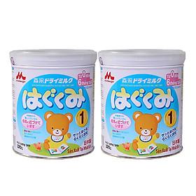 Hai hộp sữa Morinaga số 1 dinh dưỡng dành cho bé 320g