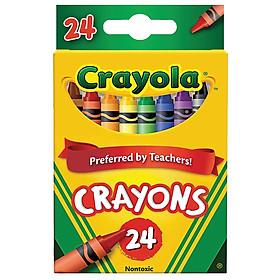 BÚT MÀU SÁP Crayola Crayons 24 CÂY