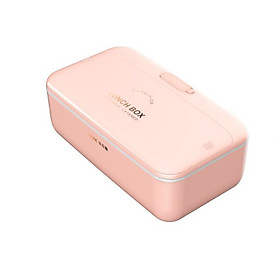 AUX  heating lunch box/electric heating lunch box/steaming lunch box 800ml HX-DF01 70℃ heating plug and use