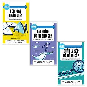 Combo sách quản trị , lãnh đạo hay - HBR Guide to : Kèm cặp nhân viên + Tài chính dành cho sếp + Quản lý sếp và đồng cấp - Tặng kèm Postcard HAPPY LIFE