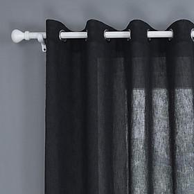 Imitation Hemp Curtain Window for Living Room Bedroom Kids Room Shading