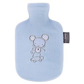 Túi chườm nóng lạnh Fashy Đức dòng bọc lông cừu dành cho trẻ em - Màu xanh