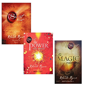 Combo 3 quyển  The Secret bí mật ( tái bản 2021) + The Secret the Power-sức mạnh + The Magic Phép màu