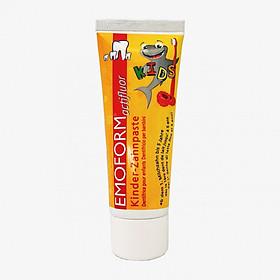 Kem Đánh Răng Bảo Vệ Răng Sữa Toàn Diện, Chống Sâu Răng Cho Trẻ 0 - 6 tuổi Emoform Actifluor Kids 75ml