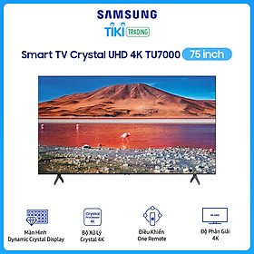 Smart Tivi Samsung 4K 75 inch UA75TU7000