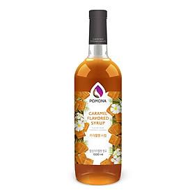 Sirô hương Caramel Pomona - Pomona Caramel Flavored Syrup (1000ml)