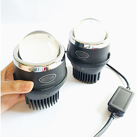 Bộ 2 Bi LED đèn gầm Mitra siêu sáng và chống nước cho xe ô tô