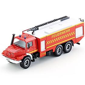 siku Shigao German brand toy car model fire truck water tanker fire truck simulation alloy car model car - Mercedes-Benz fire truck SKUC2109