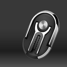 Iring điện thoại Hicuckoo Car Holder hợp kim nhôm có móc kẹp chống rơi điện thoại cho xe hơi xoay 360 độ thông minh