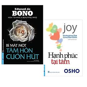 Combo 2 cuốn: Bí Mật Một Tâm Hồn Cuốn Hút + Hạnh Phúc Tại Tâm +Bookmark AHA