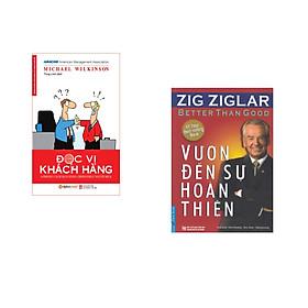 Combo 2 cuốn sách: Vươn Đến Sự Hoàn Thiện + Đọc Vị Khách Hàng