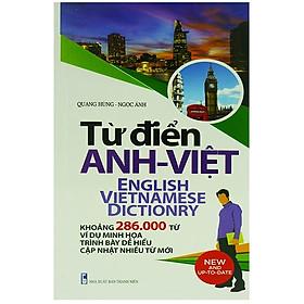 [Download sách] Từ Điển Anh - Việt 286.000 Từ