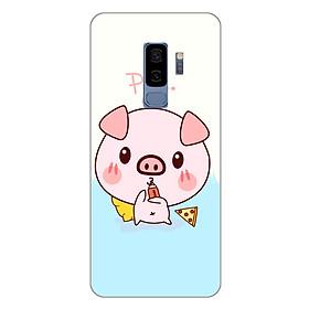 Ốp lưng dẻo cho Samsung Galaxy S9 Plus_Pig 03