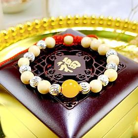 Vòng Tay Phong Thủy Dâu Tằm 5 Mệnh Ngũ Hành Cho Bé - Kim Tiền Jewelry