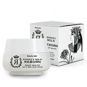 Hình đại diện sản phẩm Kem dưỡng tái tạo da ngày và đêm chiết xuất sữa lừa Beauty Idol 50ml