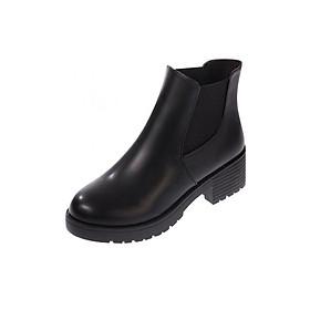 Giày Boot Nữ Kiểu Hàn Quốc Yamet SD59V668B Black