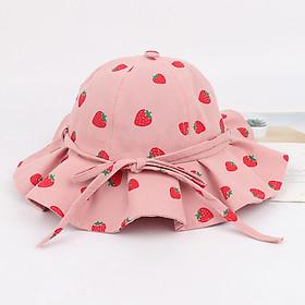 Mũ Cho Bé Gái Họa Tiết Dễ Thương Mũ Trẻ Em Phù Hợp Cho Bé Từ 2 đến 13 tuổi dùng đi học, đi chơi, du lịch PK19