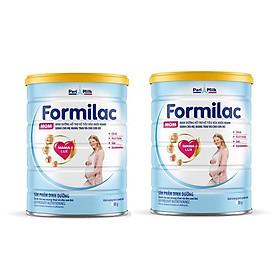 Bộ 2 Lon Sữa bột Formilac MOM - 400g