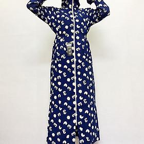 Áo Váy Chống Nắng 2 Lớp Cực Mát Có Túi Tiện Lợi (Họa Tiết Số) - VNXK
