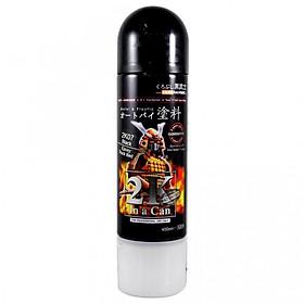 Chai sơn xịt Samurai Kurobushi 2K01 phủ bóng màu trong 400ml