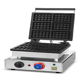 Máy làm bánh Waffle (6 khuôn) (bánh quế)