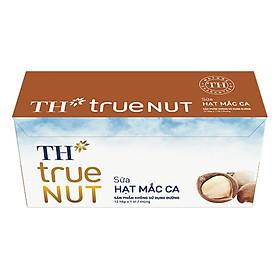 Thùng Sữa Hạt Mắc Ca TH True Nut (1L x 12 Hộp)