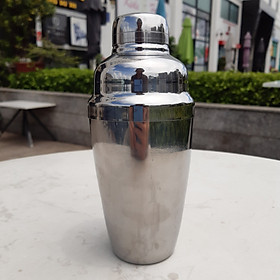 Shaker pha chế, chât liêu inox 304, dung tích 550 ml, dùng trong pha chế trà sữa cà phê cocktail
