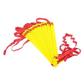 Thang Dây Huấn Luyện Trong Thể Thao (8m/16 Nấc) - Màu Vàng +Đỏ