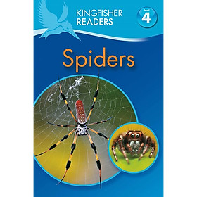 Kingfisher Readers Level 4: Spiders