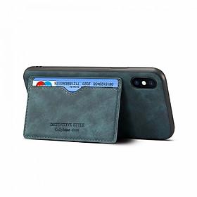 Ốp Lưng Da Có Ngăn Đựng Thẻ Cho Iphone
