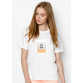 Hình đại diện sản phẩm Áo Thun Nữ Nữ In Hình Do Not Be Like The Rest Of Them SuviT26101711 - Trắng