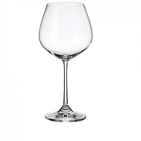 Bộ 6 Ly Rượu Vang Đỏ Crystalite Bohemia Columba 640ml