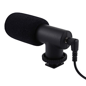 Mini Unidirectional Condenser Microphone K-song/Interview /Capacitor Recording Microphone 3.5mm Audio Interface