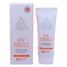 Kem Chống Nắng Arra Top Face UV Perfect Covering Mild Sun SPF50+ PA+++ (70ml)
