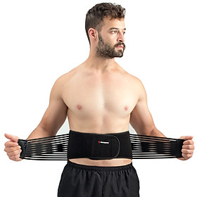 Đai lưng tập gym,đai bảo vệ cột sống chống đau lưng 2 dây nén GoodFit GF722WS