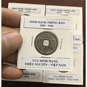 Đồng xu Minh Mạng Thông Bảo, Vua Minh Mạng triều Nguyễn Việt Nam