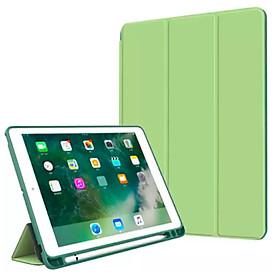 Bao Da Cover Dành Cho Apple Ipad Pro 10.5 / Air 3 10.5 2019 Có Khe Cho Apple Pencil Hỗ Trợ Smart cover