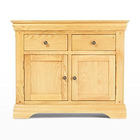 Tủ trữ đồ 2 cánh Victoria gỗ sồi