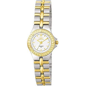 """Invicta Women's 0136 """"Wildflower Collection"""" 18k Gold-Plated Stainless Steel Watch"""