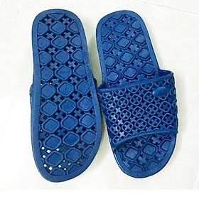 Dép nhựa nam nữ đi trong nhà và tolet, Dép đi trong nhà tắm V2 S100