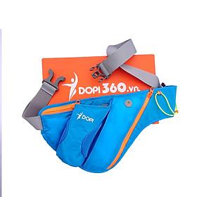 Túi đai đeo bụng hông chạy bộ phản quang DOPI360 có ngăn đựng bình nước DOPI9