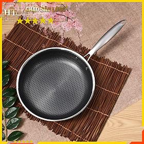 Chảo sâu lòng HT SYS - 30cm - Chảo nấu ăn sâu lòng họa tiết tổ ong-Chiếc chảo quốc dân
