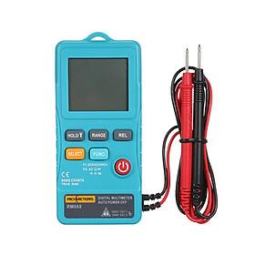 Đồng Hồ Đa Năng Mini Kỹ Thuật Số Tự Động Đo Dòng Điện AC/DC Rm088 Có Đèn Nền Và Rung Richmeters (8000 Đếm)