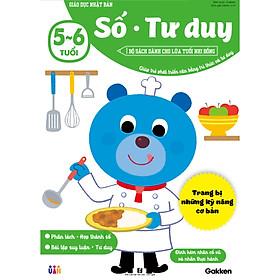 Số - Tư duy (5~6 tuổi) - Giáo dục Nhật Bản - Bộ sách dành cho lứa tuổi nhi đồng - Giúp trẻ phát triển cân bằng tri thức và tư duy